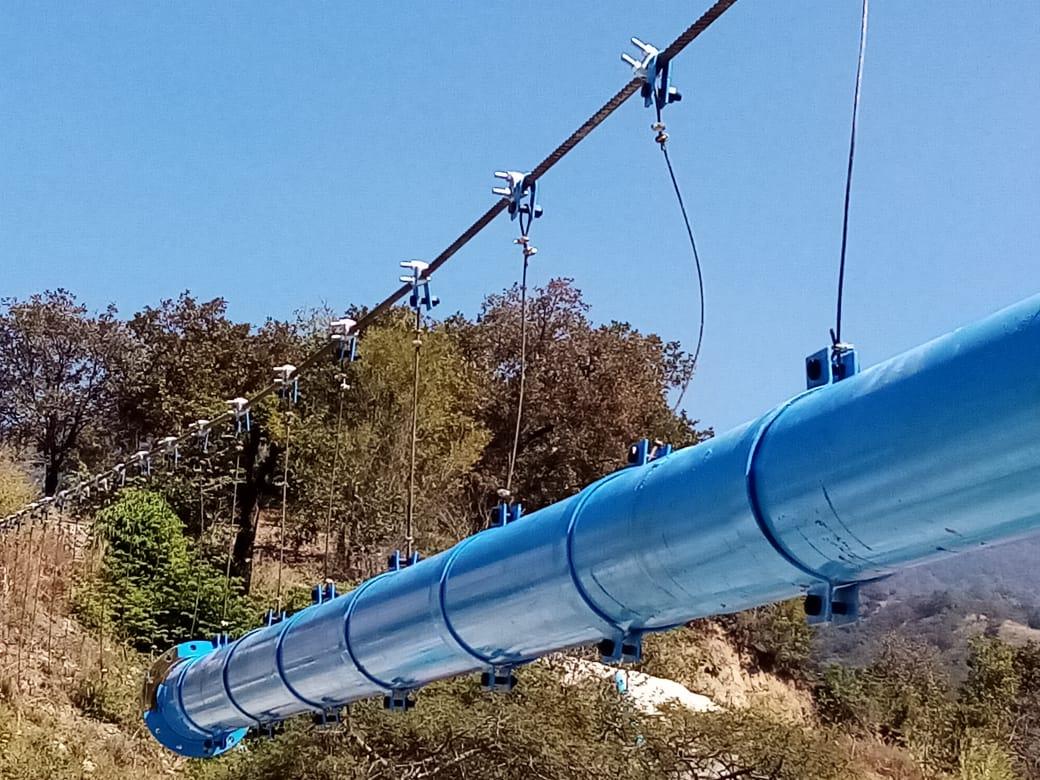 Realizan importante obra de rehabilitación del sistema de agua potable de Chenejá